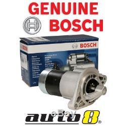 New Genuine Bosch Starter Motor Fits JEEP Wrangler TJ 4.0L Petrol (MX) 1996-2007