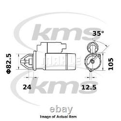New Genuine MAHLE Starter Motor MS 373 Top German Quality