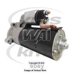 New Genuine WAI Starter Motor 30268N Top Quality 2yrs No Quibble Warranty