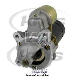 New Genuine WAI Starter Motor 30756N Top Quality 2yrs No Quibble Warranty