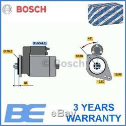 Seat Skoda Vw Audi STARTER Genuine Heavy Duty Bosch 0001123012 02Z911023F