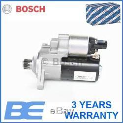 Skoda Vw Audi Seat STARTER Genuine Heavy Duty Bosch 0001121435 02E911023S
