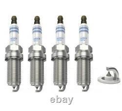 Spark Plugs x 4 Bosch Iridium For Subaru Impreza WRX Forester Legacy 1.5 2.0 2.5