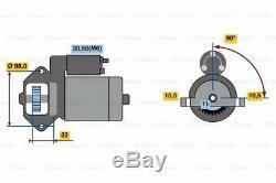 Starter Motor 0986023570 Bosch 1251700 1300504 1366986 1379702 1477482 Quality