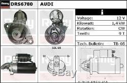 Starter Motor Audi VWA6, A4,100,80, A8, COUPE, CABRIOLET, PASSAT 078911023X