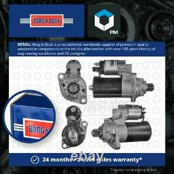 Starter Motor BST2157 Borg & Beck 02M911023 Genuine Top Quality Guaranteed New
