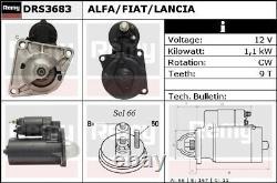 Starter Motor DRS3683 Remy 46231545 46454211 46468696 46791692 51832959 DS4793