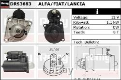 Starter Motor DRS3683 Remy 46231545 46454211 46468696 46791692 60620761 DS4793