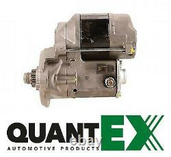 Starter Motor Isuzu Trooper Vauxhall Brava 2.3 2.6 1986-2003 Lrs2036 Quantex