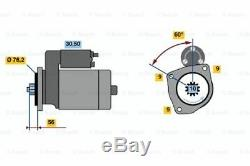 Starter Motor VWTRANSPORTER IV T4 1516812R 02B911023L