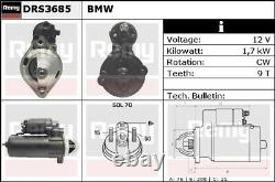 Starter Motor fits BMW Remy 12411729982 12411736922 Genuine Quality Guaranteed