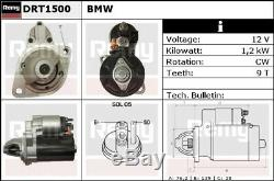 Starter Motor fits BMW X6 E71 3.0 07 to 14 Remy Genuine Top Quality Replacement