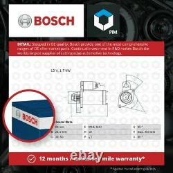 Starter Motor fits MAYBACH Bosch Genuine Top Quality Guaranteed