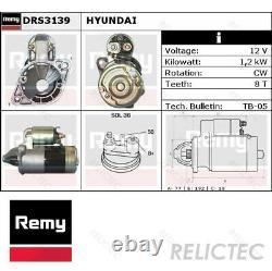 Starter Motor for Mitsubishi Hyundai ProtonSPACE WAGON, GALANT IV 4, L400, H-1