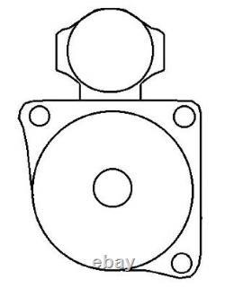 Starter Volkswagen 0001211221 9000692062 091911023 091911023X New