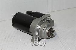 Starter motor 1.8 1.8T 2.0 Golf Bora Leon Octaia A3 02A911023L New genuine VW
