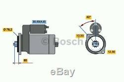 0001123014 Bosch Démarreur Du Moteur (100% Nouveau) Rotating Électrique Neuf Dans La Boîte
