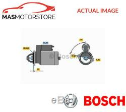 0986017120 Bosch Engine Starter Moteur P Nouveau Oe Remplacement