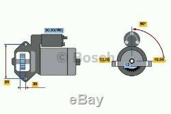 0986021810 Bosch Démarreur (re-fabriqué) 2181 Rotating Electrics