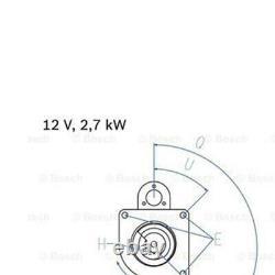 £45 Cashback Bosch Starter Motor 0 986 010 950 Véritable Qualité Allemande