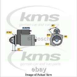 £45 Cashback Genuine Bosch Starter Motor 0 986 023 530 Meilleure Qualité Allemande