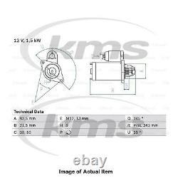 £45 Cashback Véritable Bosch Starter Motor 0 986 010 850 Top German Quality