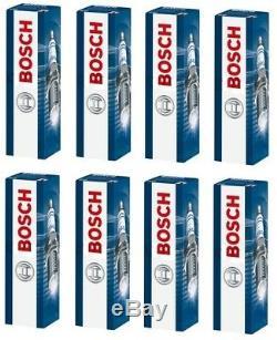 8 X Bosch Bougies Fits Porsche Cayenne S 4,5 Audi A6 A8 S6 S8 Quattro Set