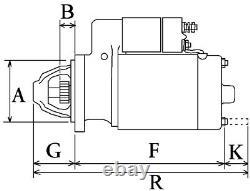 Antasser Starter Ersatz Fur 432557 433243 D6ra42 D6ra43 D6ra431 D8e111 D8e116