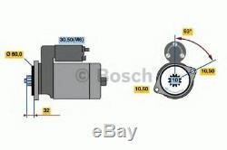 Bosch Starter 0001125057 Jour Ouvrable Suivant Au Royaume-uni