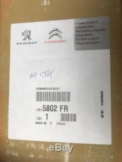 Citroen Nemo, Peugeot Bipper 1.3hdi Démarreur 51810307a152 Véritable Citroen
