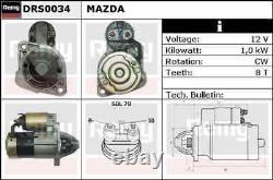 Delco Remy Starter Motor Drs0034 Toute Nouvelle Garantie Authentique De 5 Ans