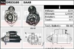 Delco Remy Starter Motor Drs3160 Toute Nouvelle Garantie Authentique De 5 Ans