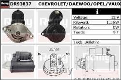 Delco Remy Starter Motor Drs3837 Toute Nouvelle Garantie Authentique De 5 Ans