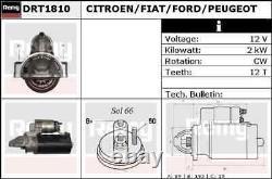 Delco Remy Starter Motor Drt1810 Toute Nouvelle Garantie Authentique De 5 Ans
