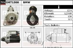 Démarreur Convient Moteur Bmw X6 E71 3.0 07-14 Remy Véritable Remplacement De Qualité Supérieure