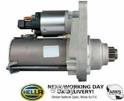 Hella Starter Motor (new) Cs1282 09 Kw 8ea012526-361 (le Jour Ouvrable Suivant Au Royaume-uni)