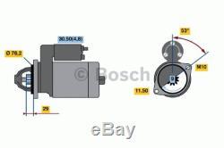 Le Démarreur Convient Au Bmw 535 3.0 2006 Sur Le Manuel Bosch 12417521116 12412354701