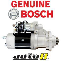 Le Démarreur D'origine Bosch Convient Aux Tracteurs Caterpillar. Des Bulldozers