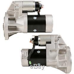 Le Démarreur D'origine Bosch Est Compatible Avec Nissan Navara Et Terrano Diesel 2.5l 2.7l Et 3.2l