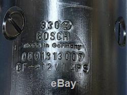 Mercedes 107 108 111 Véritable Bosch Démarreur 000 131 30 07 Belle Reconstruction