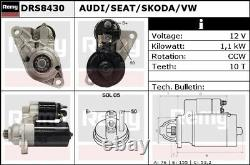 Moteur De Démarrage Drs8430 Remy 02t911023ex Ds9540 Véritable Qualité Supérieure Garantie