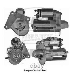 Nouveau Borg Authentique & Beck Starter Motor Bst2174 Top Quality 2yrs No Quibble Warran