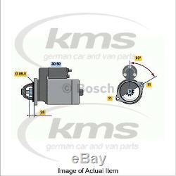 Nouveau Démarreur Authentique Bosch 0 001 108 131 Qualité Allemande Exceptionnelle