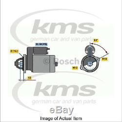 Nouveau Démarreur Bosch Authentique 0 001 138 039 Qualité Allemande De Qualité Supérieure
