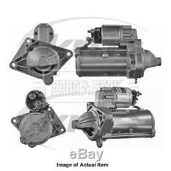 Nouveau Véritable Borg & Beck Starter Motor Bst2303 Top Qualité Pas Quibble Warran