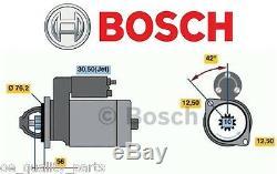 Nouveau Véritable Bosch Démarreur Vw Golf 3 4 Bora Passat Caddy Sharan Polo 1.9tdi