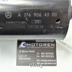 Orig. Mercedes Cls Gle E S-klasse Anlasser Démarreur A2769064300 W212 W222 W166