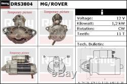 Rover 75 Rj 1.8 Starter Motor 99-05 K1.8 Remy Véritable Remplacement De Qualité Supérieure