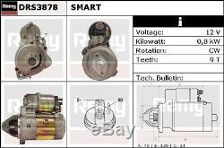 Smart Roadster 0.7 Démarrage Du Moteur 03-05 Remy Véritable Remplacement De Qualité Supérieure