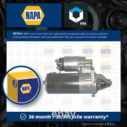 Starter Motor S'adapte Bmw 325 E30 2.5 85 À 93 Napa Genuine Top Quality Guaranteed